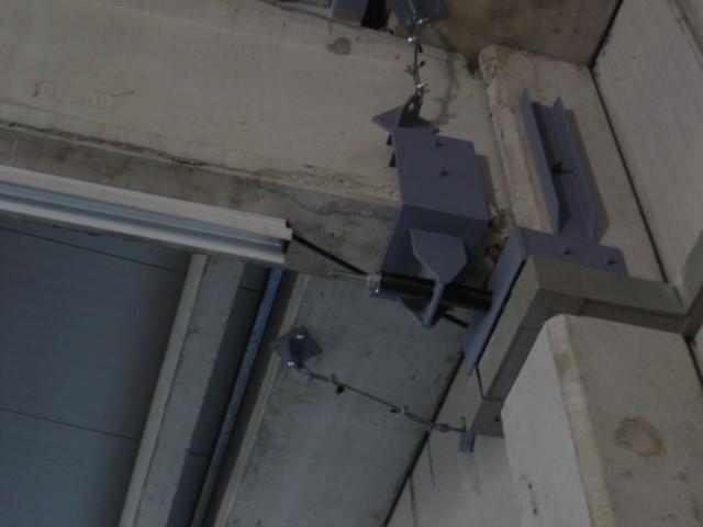 Sismocell montato in edificio industriale a Bondeno, Ferrara