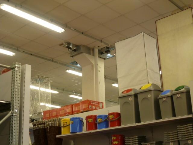 Miglioramento sismico di un complesso commerciale a Cento, Ferrara