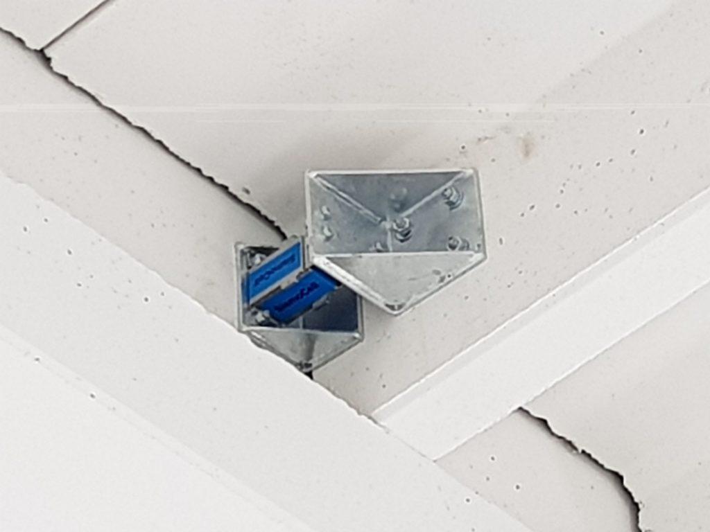miglioramento sismico con dispositivo antisismico Sismocell Box - sistema dissipativo antisismico