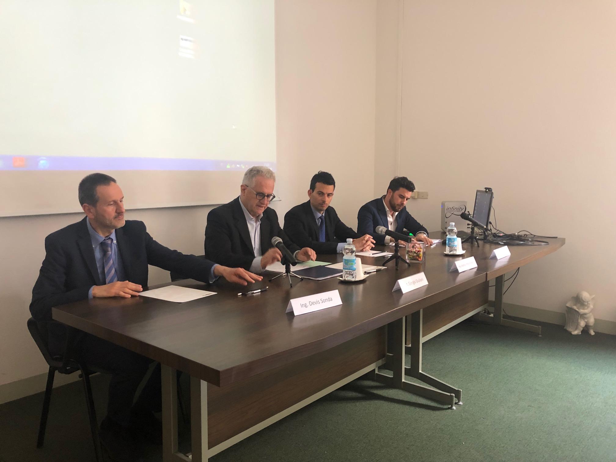 Devis Sonda, Giorgio Giuliani, Andrea Pollini, Michele Bolognesi