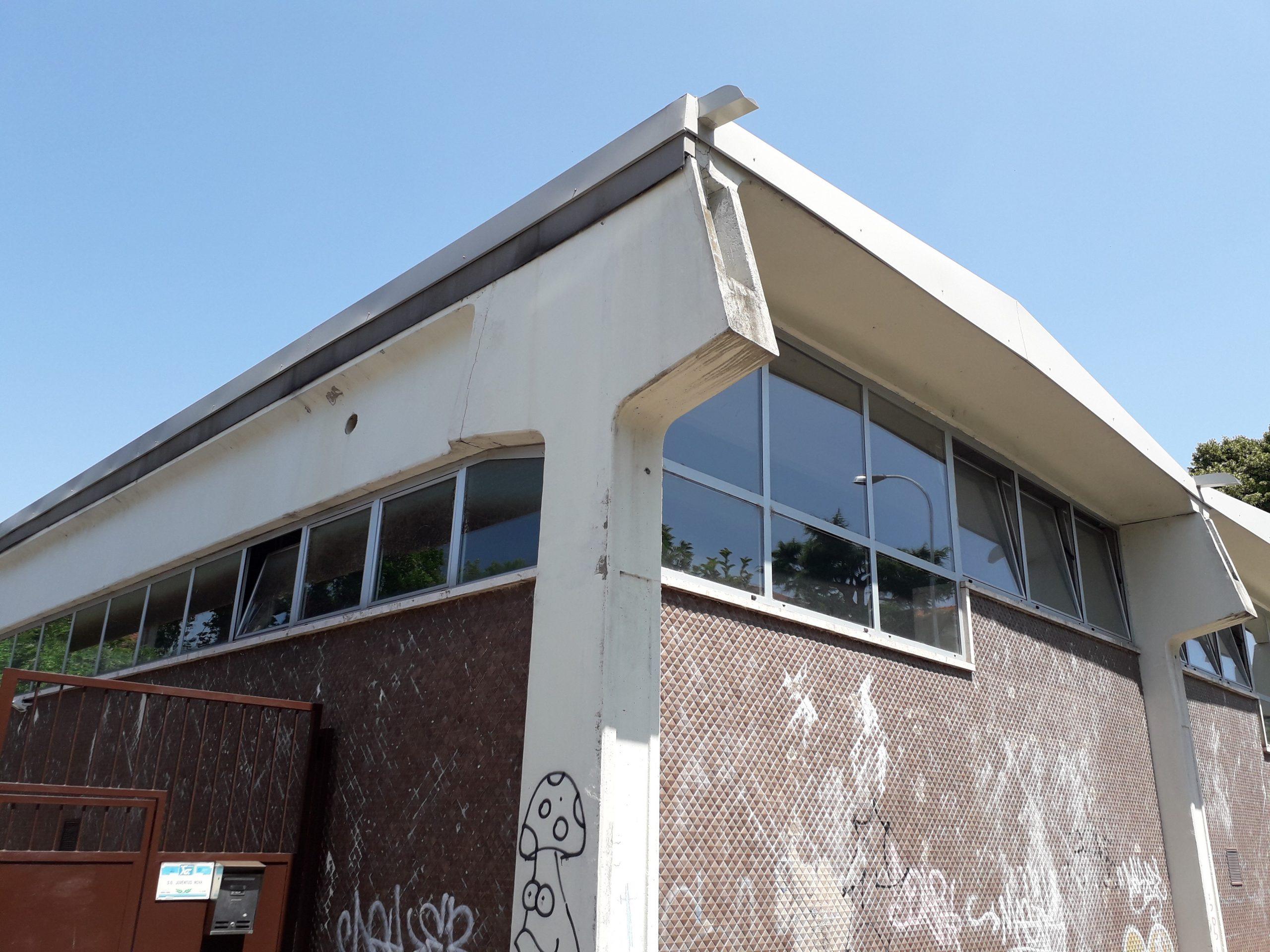Palestra adiacente alla scuola Collodi a Melzo (Mi)