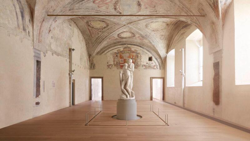 Pietà Rondanini - riduzione del rischio sismico sulla statua di Michelangelo