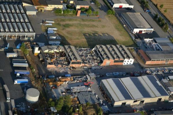 terremoto in Emilia Romagna - riduzione del rischio sismico per capannoni industriali prefabbricati