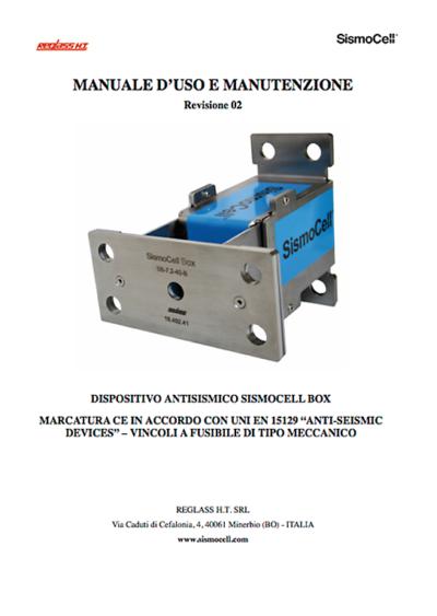 Manuale Sismocell Box